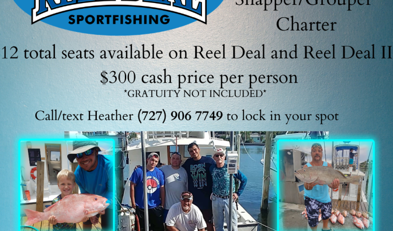 American Red Snapper/Grouper Trips